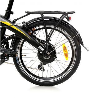 250 ватов двигател в задното колело