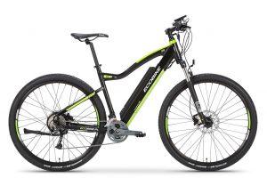 ел колело с вградена батерия в рамката