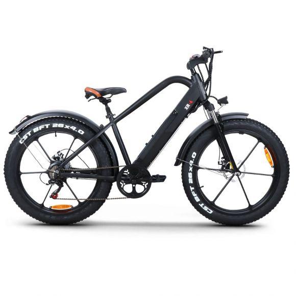 Планински електрически велосипед Elmotive XR6 | черен