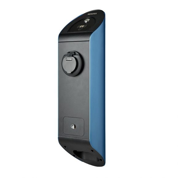 Зарядна станция за електромобил Vestel EVC02 | 22 kW Тип 2 | 3G, RFID | синя