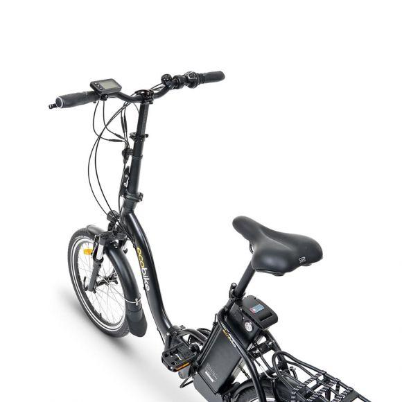 компактен 20 инчов велосипед с електродвигател