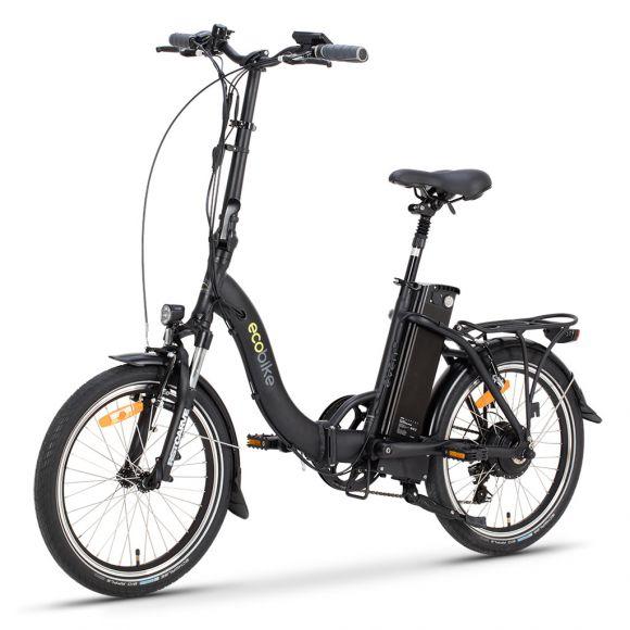 Сгъваемо електрическо колело EcoBike Even | черен