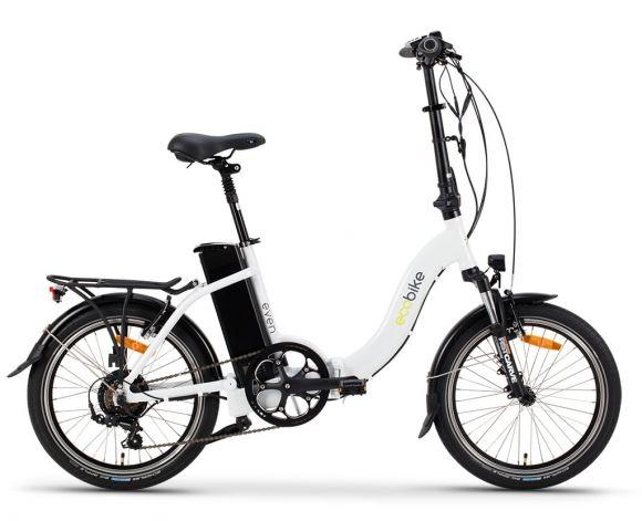сгъваем велосипед с преден амортисьор