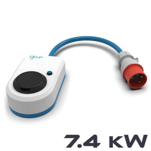 Мобилна зарядна станция за електромобил go-e charger | 7,4 kW 1-фазна | CEE 32А към контакт Тип 2