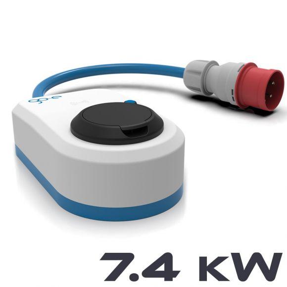преносима станция за електрически коли 7,4 kW мощност