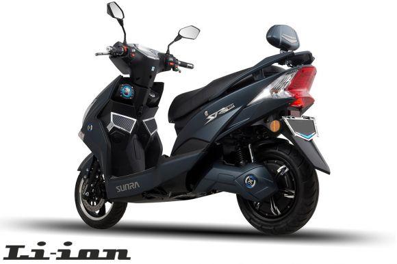 електрически мотопед sunra hawk li-ion