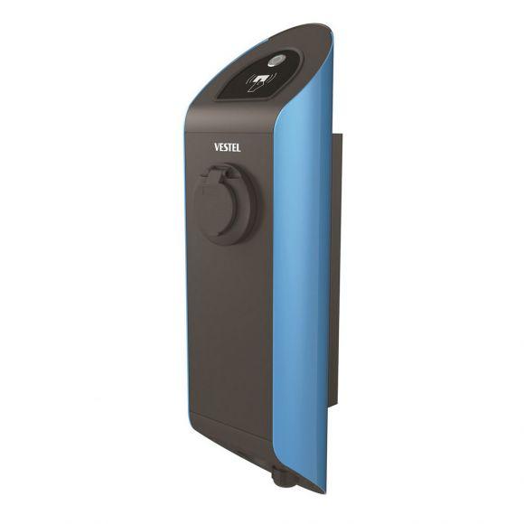 Зарядна станция за електромобил Vestel Home Smart | 22 kW Тип 2 | Wi-Fi, RFID | синя