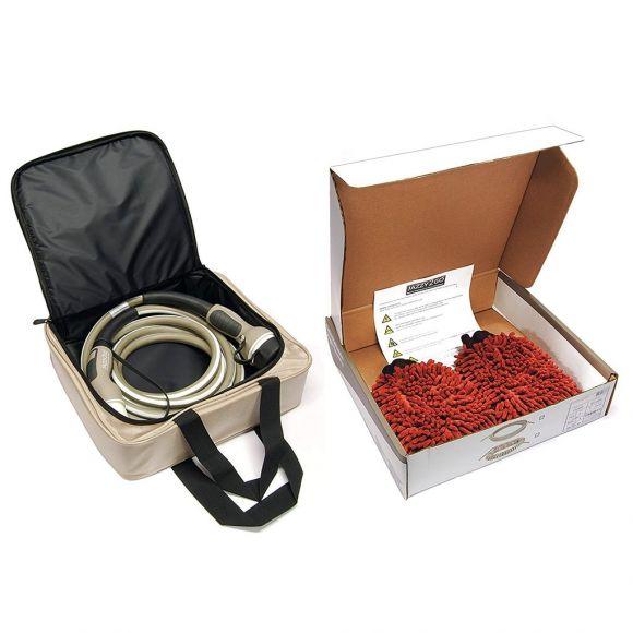 чанта за кабел и ръкавици за почистване