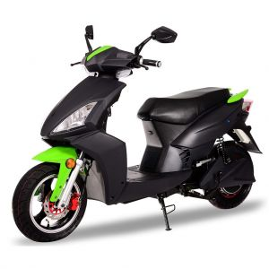 Електрически скутер Jonway MSG-D 1500 вата черен/зелен