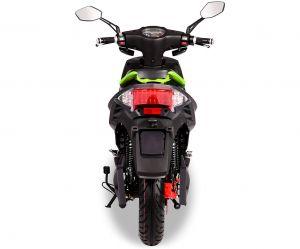 ел скутер със светодиодно осветление
