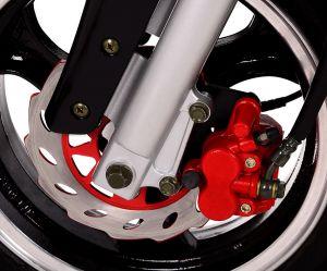 предна хидравлична дискова спирачка червен цвят