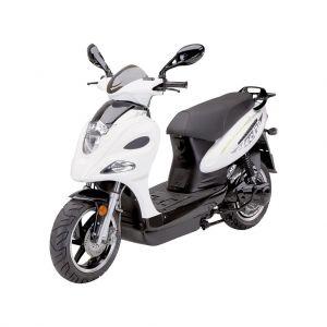 Електрически скутер Jonway MSG-Е 3000 вата бял / черен