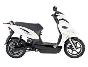 електрически скутер със сваляеми батерии