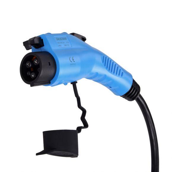 монофазен кабел тип 1 16 ампера за зареждане на електрокола