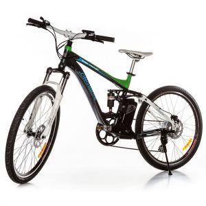 Планински електрически велосипед Longwise Green Panther
