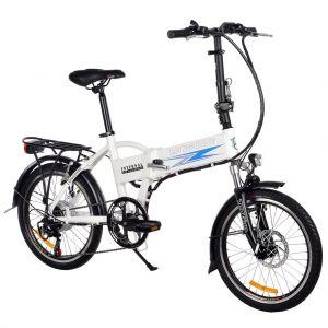 Сгъваем електрически велосипед Longwise Q9 бял