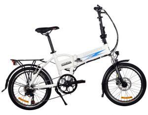 сгъваем ел велосипед с батерия