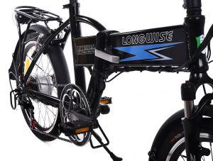 сгъваемо колело с преден амортисьор