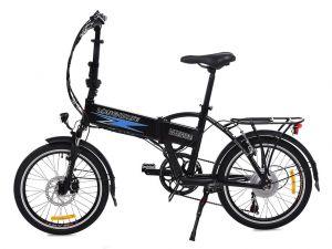 сгъваемо колело longwise q9 черен цвят