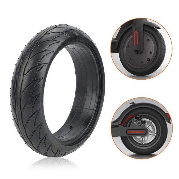монтирана ненадуваема гума на електрическа тротинетка ninebot