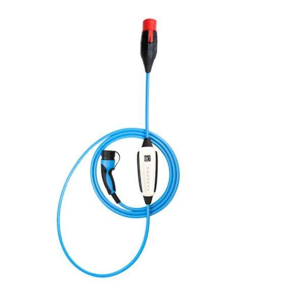 Мобилна зарядна станция NRGKick с Bluetooth и Wi-Fi | 22 kW 3-фазна | Тип 2 | 5 м