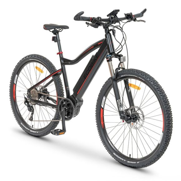 Планински електрически велосипед EcoBike RS21 | 48 V 350W | централен мотор