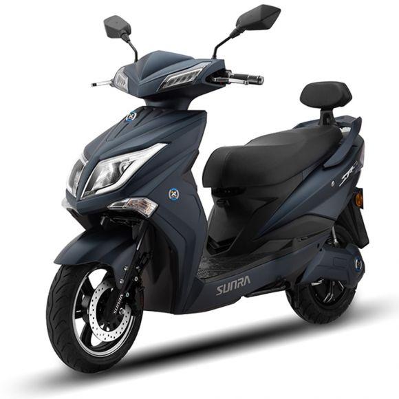 Електрически скутер SUNRA Hawk | 1800 вата | син мат
