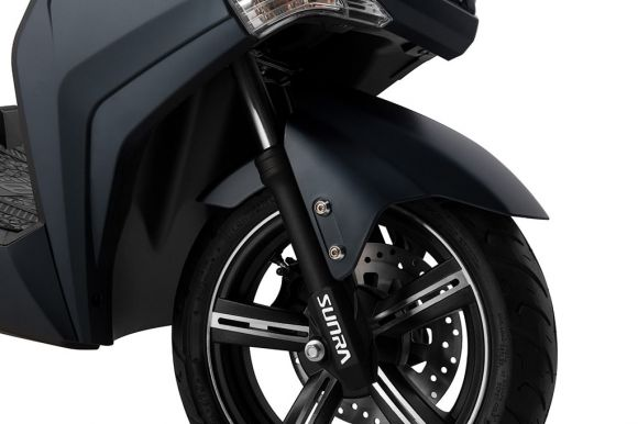 предни хидравлични амортисьори за скутер