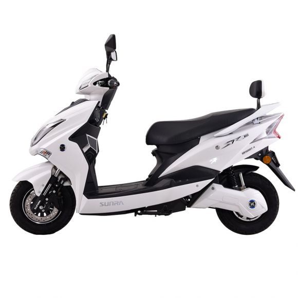 електрически скутер с литиево-йонна батерия 72 волта