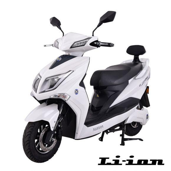 Електрически скутер SUNRA Hawk | 1800 вата | Li-ion | бял
