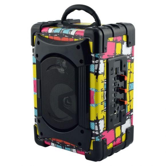 караоке аудио устройство с микрофон