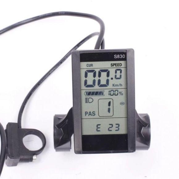 LCD дисплей за контрол на електрическото подпомагане на велосипеда s830