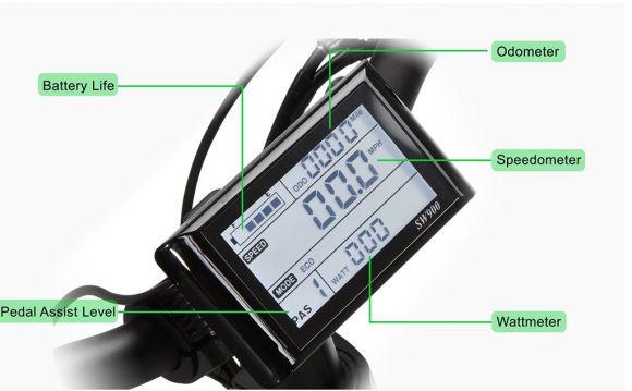 дисплей за упраление на електрическата асистенция