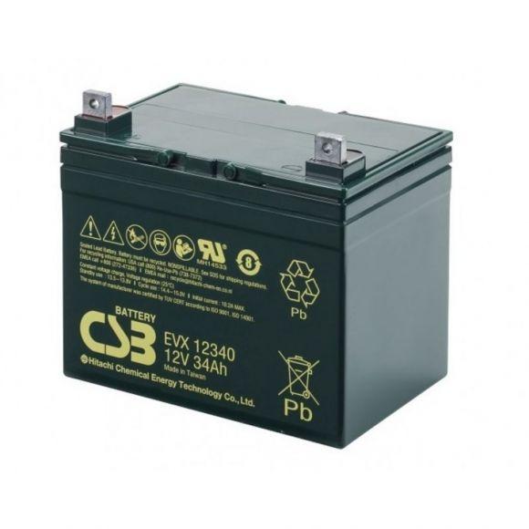 Тягов акумулатор CSB | 12 V 34 Ah