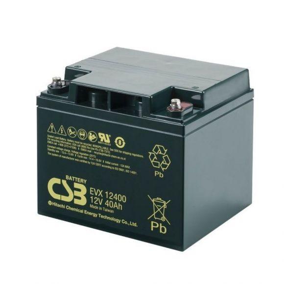 тягов цикличен agm акумулатор csb evx 40 ah