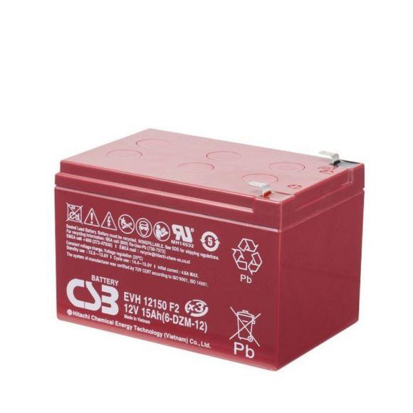 Тягов акумулатор CSB | 12 V 15 Ah