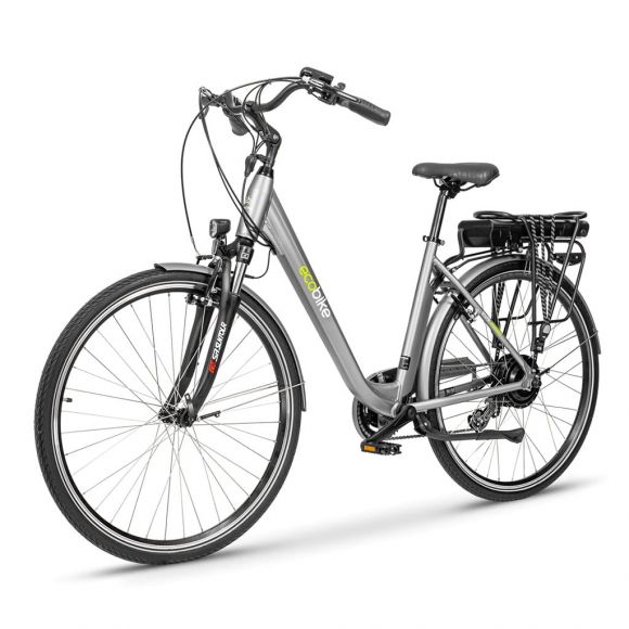 удобен градски велосипед Екобайк Трафик Про 350 вата