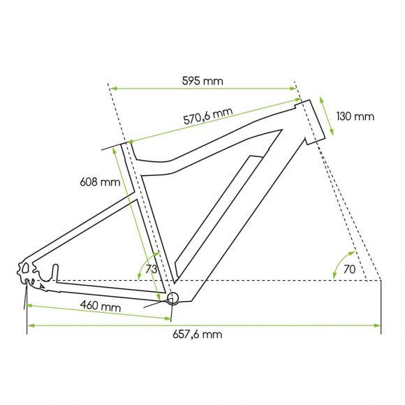 20 инчова рамка за градско колело