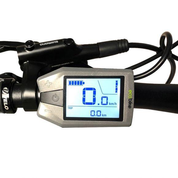 дигитален километраж с показание за батерията