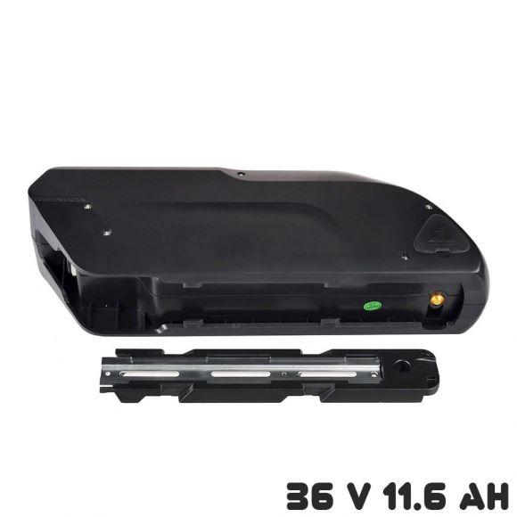 монтаж на батерията с планка на мястото на бутилката