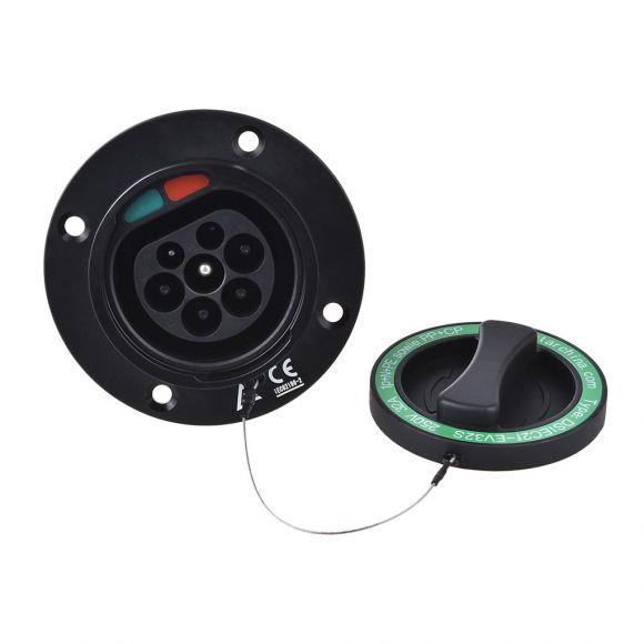Контакт за зареждане на електромобил Тип 2 | трифазен 22 kW