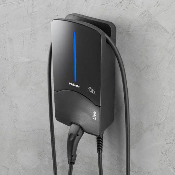 зареждачка за електрически коли с вграден кабел