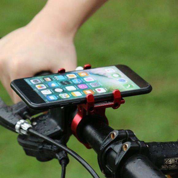 практична стойка за телефон за електрическа тротинетка