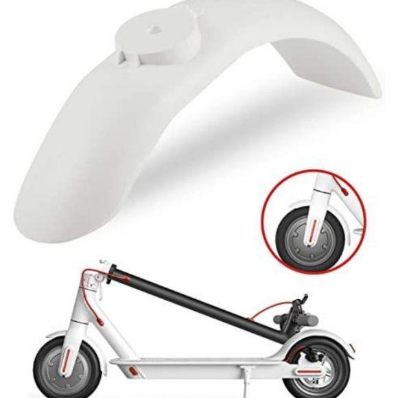 бял преден калник за електрически скутер xiaomi m365