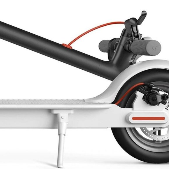 бял пачи крак за ел скутер xiaomi m365
