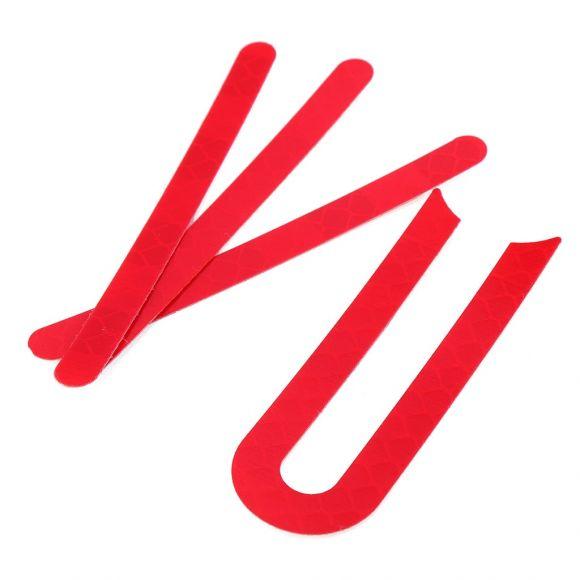червен стикер за ел скутер xiaomi mijia